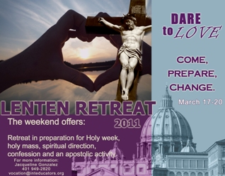 lent retreat 3gf
