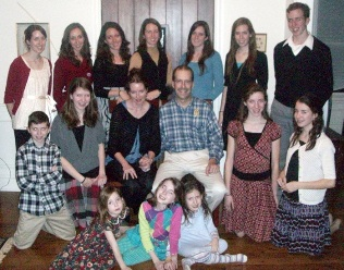 The Littleton family as of November 2010.