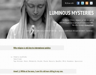 luminous  mysteries blog