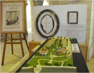 Notre Dame of Magdala model