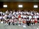 The Manual High School football team at their SportsLeader Team Camp.