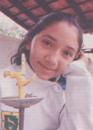 Mayela Mariana Novelo Sáenz, alumna del Colegio Mano Amiga Conkal.