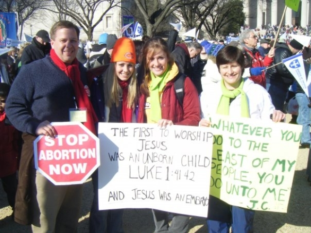 group at march for life
