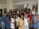 Foto de grupo de las colaboradoras del ECYD con Mons. Emilio Berlié (atrás al centro). Le acompañan el P. Juan María Sabín, L.C., rector de la Anáhuac del Mayab, y Fabiola Zellek, consagrada del Regnum Christi.