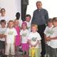 Un grupo de niños del club Amigos NET visitó a Mons. Reinhard Lettmann, obispo de Münster.