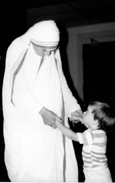 Mother Teresa and daughter