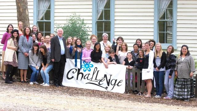 Challenge girls in Sydney Australia