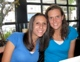 Nicole McDonnell (right) and her sister Colleen.