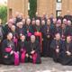 Obispos participantes en la V Peregrinación a la tumba de san Pedro.