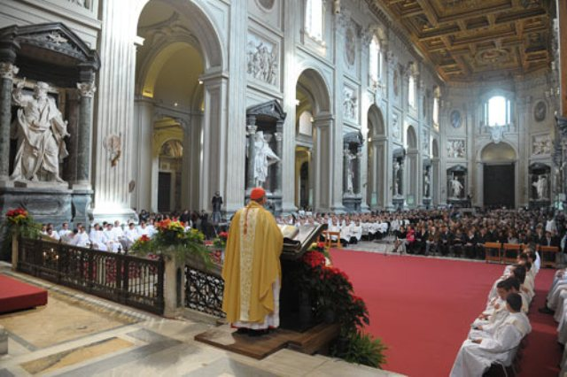 card velasio homily