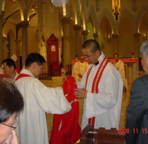 ordination of Michael Tham