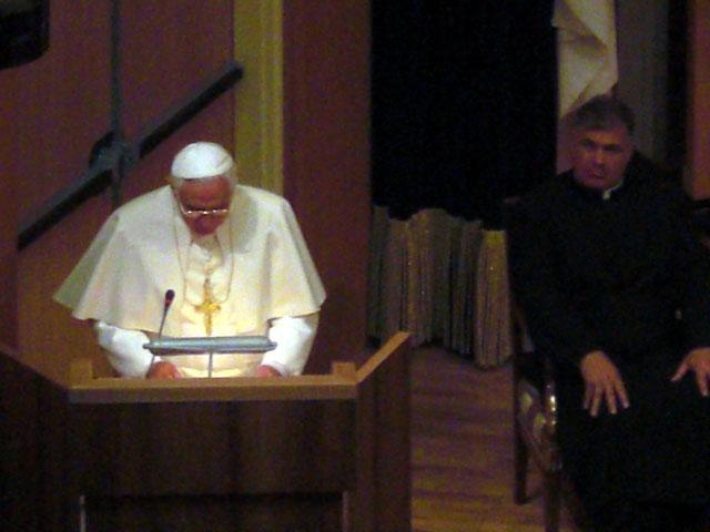 Visita del Papa a Notre Dame