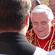 «Messenger of Christ to announce peace and encourage dialogue in a world often rent by division and resentment.»