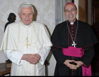 pope and archbishop Velasio