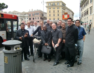priests outside