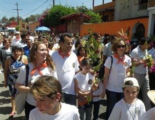 procession in Malinalco