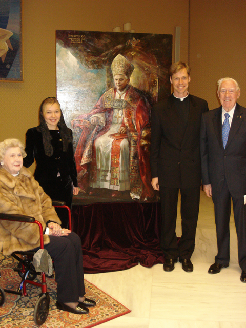 Retrato de Benedicto XVI