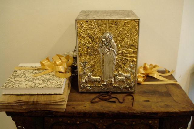 Sagrario que regaló el Papa a Notre Dame