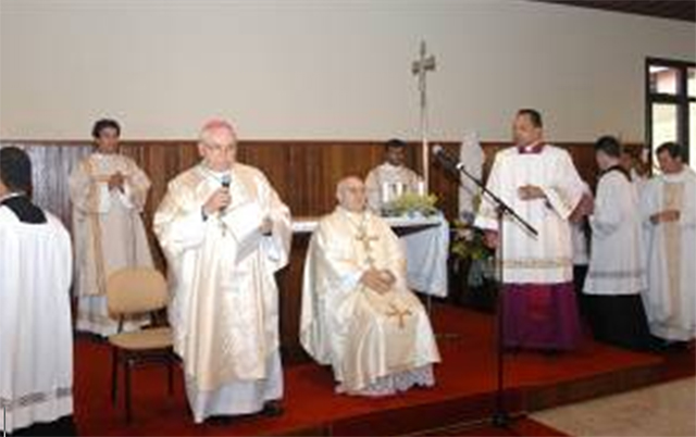 Mons. Emilio Pignoli, en la inauguraci&oacute;n del SIMME.