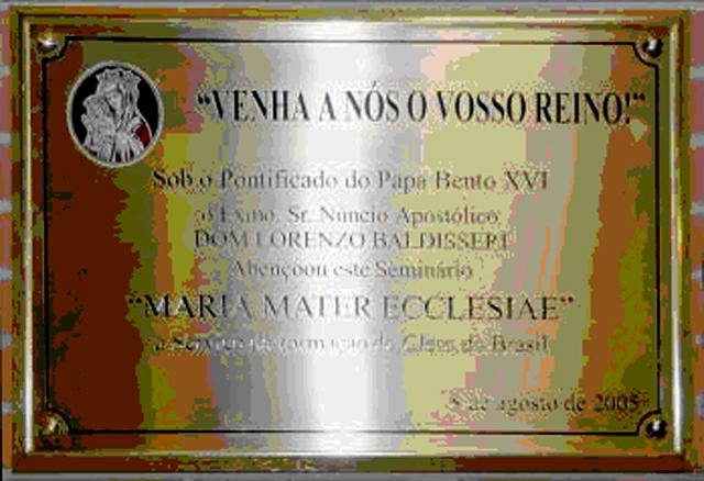 Placa de la inauguración del SIMME