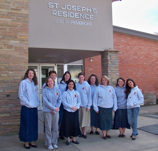 missionaries at st josephs
