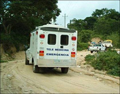 Unidad m&oacute;vil de Telemedicina.