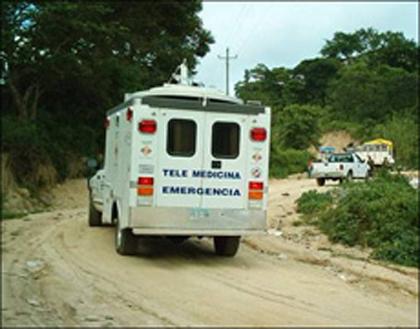 Unidad móvil de Telemedicina.