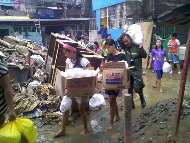 aid relief in Philippines