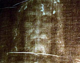 turin shroud face