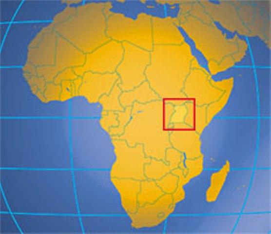 Uganda location
