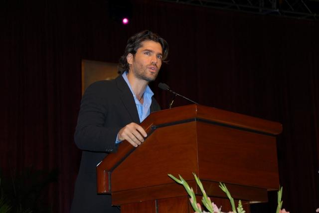 Eduardo Verastegui en Atlanta 2007