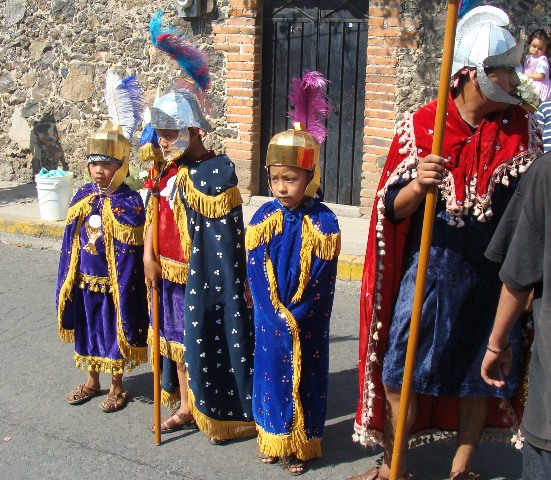young Roman soldiers