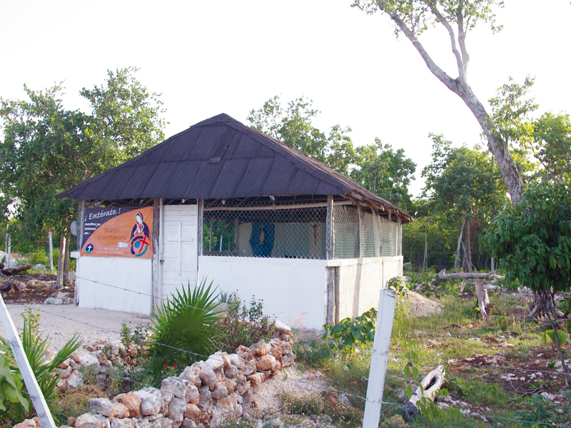 Chapelle à Cancun