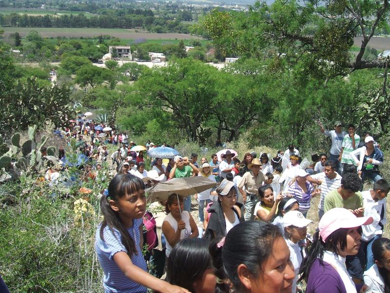 Chemin de croix au mexique