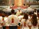 Misa de envío en la Basílica de Guadalupe de la Ciudad de México, celebrada por el P. Francisco de Juan, L.C.