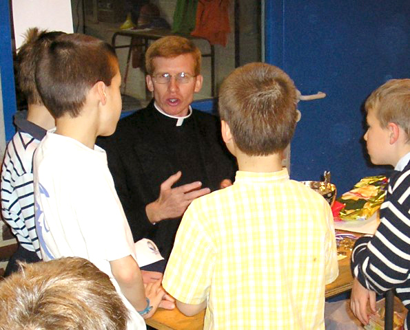 Vocational testimony of the Fr. Daniel Guindon LC