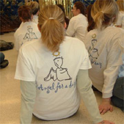 Angel for a day tee shirt