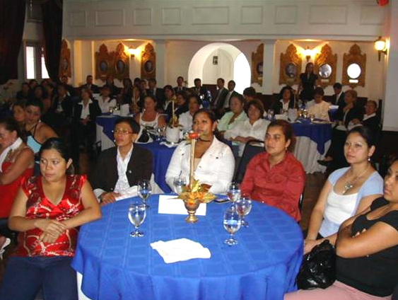 Impulsadoras participantes de ANSPAC-Sigma Alimentos de Costa Rica.