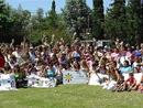 Evento de cierre del año con las señoras participantes en el programa de ANSPAC en Buenos Aires, Argentina.