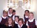 More than 400 Woodmont Academy students, toured the restored Basilica.