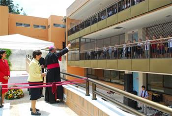 inauguração colegio everest