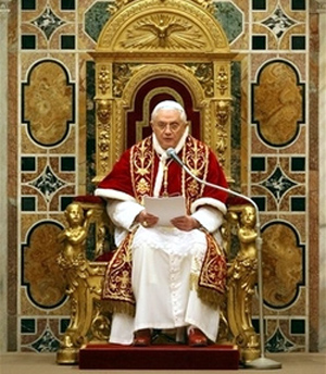 Sua Santit&agrave; Benedetto XVI
