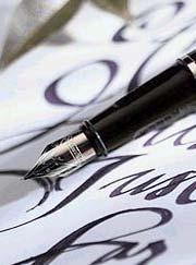 Carta, firma