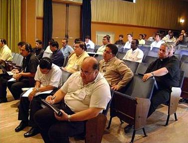 Formadores que participaron en el curso internacional