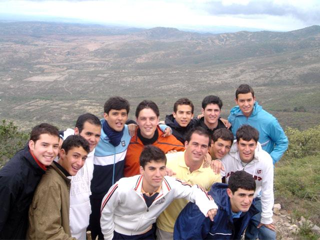 Grupo de los colaboradores de la sección de jóvenes de Monterrey.
