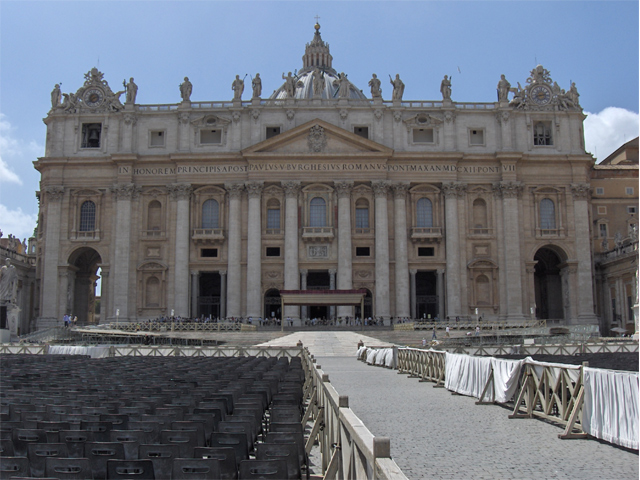 Basílica de San Pedro.