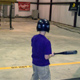 A boy at the bat
