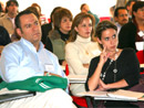 Los asistentes a la convención participaron en conferencias y sesiones de trabajo.