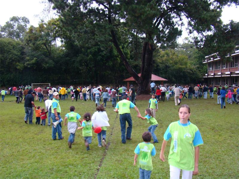 Vista general de la convicencia de Familia Unida en Guatemala.