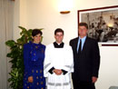 Dave and Carol Fisher with their son Br Nicholas Fisher LC